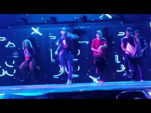 Chris Brown Austin , Tx party in the rain!!