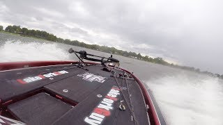Surprise lightning storm creates big waves within minutes while bass fishing on lake fork and makes for a wet and wild boat ride.SUBSCRIBE - https://www.youtube.com/lakeforkuyWATCH MORE FISHING - https://www.youtube.com/playlist?list=PLF43D57E0A9B443B3Need bass boat trailer repair? Google Danny lake fork boat carpet if your are around the area.GET OFFICIAL FISHING FREAK GEAR HEREhttp://bit.ly/LFGMERCHLISTEN TO THE PODCASThttp://bit.ly/HOOK-ARROWINSTAGRAM https://www.instagram.com/lakeforkguySNAPCHAT - LakeForkGuyFACEBOOK https://www.facebook.com/lakeforkguyMUSICUp In My Jam (All Of A Sudden) by - Kubbi PewPewPew by - Kubbihttps://soundcloud.com/kubbiCreative Commons — Attribution-ShareAlike 3.0 Unported— CC BY-SA 3.0 http://creativecommons.org/licenses/b...Music provided by Audio Library https://youtu.be/tDexBj46oNIABOUT LFGJustin Rackley, known as Lakeforkguy in the fishing world, creates fishing and outdoor videos on youtube and other social platforms.  LFG provides fishing tips and techniques for mostly largemouth bass fisheries but also travels to other freshwater and saltwater fishing spots to explore new fish species and fishing techniques to show as many fishing places as possible and help you catch more fish.  Lakeforkguy likes to hang out on any fishing vessel or go bank fishing with his other YouTube Fishing friends and vlog with his Wife Stephanie and french bulldog Winston.---------------------------------------------------GEAR----------------------------------------------------CAMERASDSLR Camera (Panasonic GH5) - http://amzn.to/2a6frQEStatic Shot (Gopro Hero 4 Black) - http://amzn.to/2aiE4wQMetabones Speedbooster 4/3 EF Mount - http://amzn.to/2aoWey0CASESWaterproof Travel Case For My DSLR and Lenseshttp://amzn.to/2kLIOjiMetal Gopro Case with Filtershttp://bit.ly/GoProMetalCaseCheap GoPro Travel Casehttp://amzn.to/2kk30ugLENSESCanon 24-105mm L Lens - http://amzn.to/2a6fNqxRokinon 14mm WIDE - http://amzn.to/2aJRmkSAUDIOSony UWPD11/42 Lavalier Microphone - http://amzn.to/2afp1jHGopro Chesty Lav Mic (Cheap) - http://amzn.to/2azAMo1DSLR Shot Gun Mic - http://amzn.to/2anoJh9