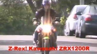4. Kawasaki ZRX1200R  Motorcycle Review  オート�イ