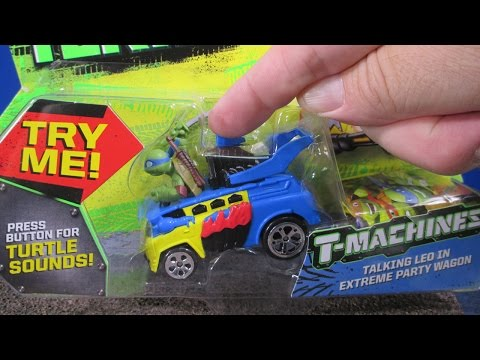 TMNT Turtle Sounds T-Machines! Talking Leo Teenage Mutant Ninja Turtles