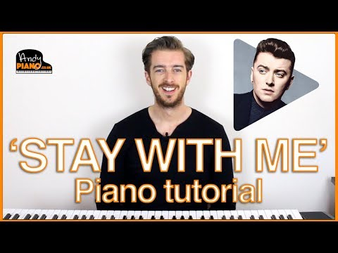 Sam Smith - Stay With Me Piano Lesson Tutorial - 3 CHORDS SUPER EASY ! Mp3