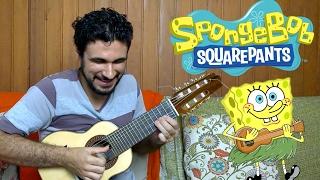 Video SpongeBob SquarePants Theme - Mini Guitar (Marcos Kaiser) MP3, 3GP, MP4, WEBM, AVI, FLV November 2018