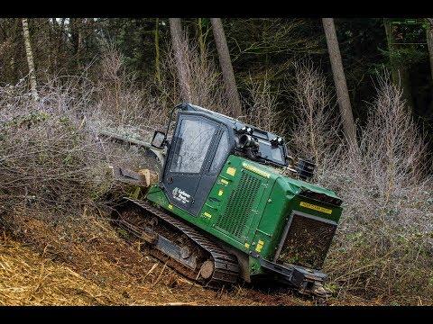 PrimeTech PT 175/ FAE Mulcher/ Strommasten frei muchen [Lahner Forst]