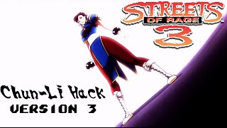 The SoR3 Chun-Li hack is better than ever with improved animations and attacks. This version adds new team attacks and the...