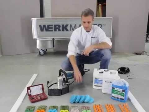 WerkMaster Releases New DIY Video On Removing Epoxy Paint And Polishing Concrete With Scarab Handheld Grinder