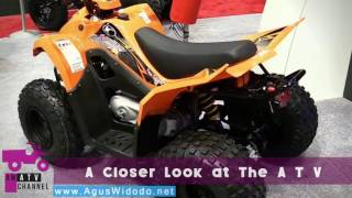 10. Kymco Mongoose 90 S 2017 give your REVIEW & Opinion this All Terrain Vehicle