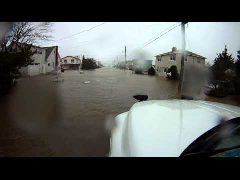 Hurricane Sandy LBI Mid AM