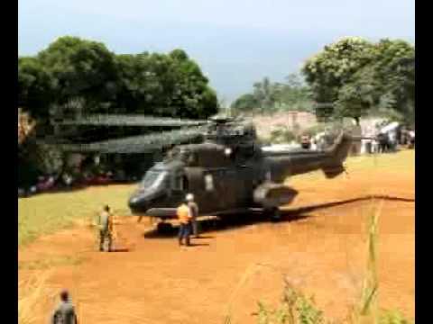 Helikopter Super Puma NAS 332 TNI-AU...