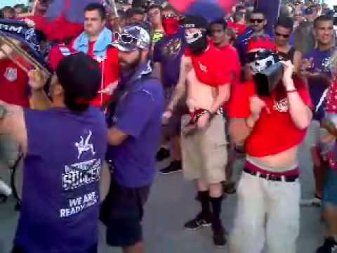 Video - Orlando City Soccer Ruckus Drummers - The Ruckus - Orlando City - Estados Unidos