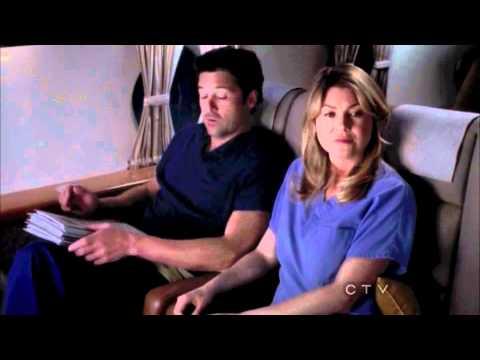 "Grey's Anatomy 8x23 ""Plane Crash - Ending Scene"""