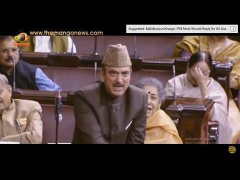 Ghulam Nabi Azad Slams Rajnath Singh In Rajya Sabha Over JNU Issue | Mango News