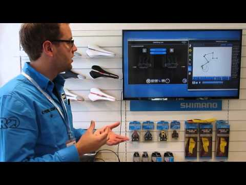 Shimano Bikefitting demonstration, Icebike 2014