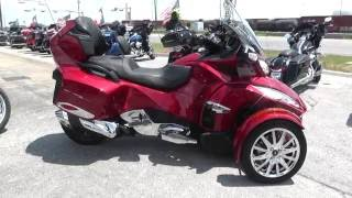 7. 002353 - 2015 Can Am Spyder RT LIMITED SE6 - Used motorcycles for sale