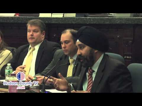 housing - Hoboken Councilman Ravi Bhalla spoke at length about his decision to vote nay on Barbara Reyes' appointment.