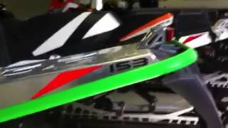 9. Arctic cat snowmobile