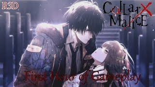 """This is my walkthrough series for #Collar X #Malice for the #PSVita. Don't forget to thumbs up, comment and subscribe for more content. If you would like to buy """"#CollarXMalice"""" and want to help support my channel, then please use this play-asia link to purchase the game: http://www.play-asia.com/collar-x-malice/13/70b4cn?tagid=1338187$3 off Play-Asia Code: R3DAmazon: http://amzn.to/2umosCfPSN Code: http://www.play-asia.com/playstation-network-card-50-usd-usa-account/13/703y13?tagid=1338187PSN Card: http://amzn.to/1IV45elIf you want to buy a great gaming rig, use this link: http://www.originpc.com/?aid=1359Save on PC Games with GreenManGaming: http://www.greenmangaming.com/?tap_a=2283-5d2ea6&tap_s=80135-d628d0Become a Patron: http://www.patreon.com/R3DGamingFollow me on Twitter: http://www.twitter.com/R3DGamingLike me on Facebook: https://www.facebook.com/R3DPlaystationCheck out my Website: http://www.r3dplaystation.wordpress.comIf you want to buy a PS4 and also support my channel, then please use this amazon link: http://amzn.to/1kA6hwpLink for my European fans to get discounted games and PSN codes: http://www.cdkeys.com/?mw_aref=R3DPlaystationFilmer------------------------------------------------------------------------------------------About #CollarX #MaliceMany Paths to the Truth - Elements of choice and trust weave together to form a branching narrative leading to multiple unique endings! Weigh your options carefully and follow your instincts in your quest to restore order to the city!Stalked by Death, Bound by Malice - Put your detective skills to the test! The mysterious and deadly collar attached to your neck holds the key to solving a myriad of sinister secrets. Will you crack the case in time?Mind Bending Narrative with Massive Amounts of Gameplay - Collar X Malice offers intriguing characters, brooding visuals and a gripping story full of mystery guaranteed to keep you coming back for more!A dangerous shadow organization launches a campaign of fear and vi"""