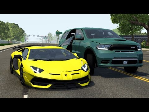 Luxury & Super & Hyper Car Crashes Compilation #23 - BeamNG Drive