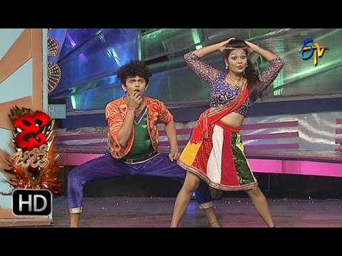 Sanketh And Priyanka Performance | Dhee Jodi | 9th November 2016 | ETV Telugu