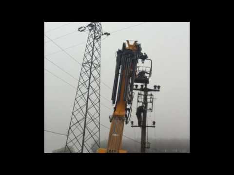 Çağlayan Elektrik Ömerli barajı yolu 36kV Ayırıcı demontaj+Montaj