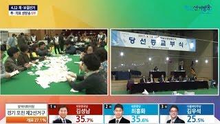 4.12 재·보궐선거 투·개표 생방송 (3부~6부)