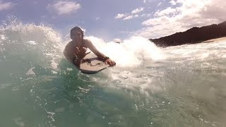 Some clips of me, my cousins, and some friends. We all went down to sharkbay right next to Manele. We had a lot of great shots from that day so I decided to make a montage. Some clips are also from a place called Stoneshack also located on Lanai.  Enjoy this video took some time and it was a lot of fun to make. This video was filmed using my GOPRO Hero 2 camera. I edited it using iMOVIE. The song is called The Recluse (Remix).  Like/Comment/Subscribe. If you like the video hit me back with some feedback.