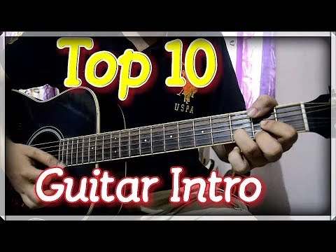Top 10 Impressive Bollywood Guitar Intro – Super Easy Beginner's Lesson