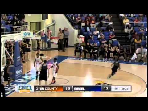 Dyer County F Robert Hubbs With the Dunk on the Break