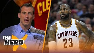"Should LeBron stop spreading the blame around and start putting it more on himself? Doug Gottlieb thinks so.SUBSCRIBE to get all the latest content from The Herd: http://foxs.pt/SubscribeTHEHERD  ►Watch the latest content from The Herd: http://foxs.pt/LatestOnTheHerd ►Watch the latest content from Kristine Leahy: http://foxs.pt/LeahyOnHerd ►Watch our favorite content on ""Best of The Herd"": http://foxs.pt/BestOnTheHerd ►UNDISPUTED's YouTube channel: http://foxs.pt/SubscribeUNDISPUTED ►Speak for Yourself's YouTube channel: http://foxs.pt/SubscribeSPEAKFORYOURSELF See more from THE HERD: http://foxs.pt/THEHERDFoxSports Like THE HERD on Facebook: http://foxs.pt/THEHERDFacebook Follow THE HERD on Twitter: http://foxs.pt/THEHERDTwitter Follow THE HERD on Instagram: http://foxs.pt/THEHERDInstagram Follow Colin Cowherd on Twitter: http://foxs.pt/ColinCowherdTwitter Follow Kristine Leahy on Twitter: http://foxs.pt/KristineLeahyTwitter  About The Herd with Colin Cowherd:The Herd with Colin Cowherd is a three-hour sports television and radio show on FS1 and iHeartRadio. Every day, Colin will give you his authentic, unfiltered opinion on the day's biggest sports topics, and co-host Kristine Leahy will bring you the latest breaking sports news.LeBron James should put the blame on himself for Cavaliers' poor offseason  THE HERDhttps://youtu.be/4gApCHWzbUsThe Herd with Colin Cowherdhttps://www.youtube.com/c/colincowherd"