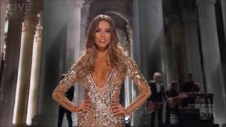 Miss Universe 2015 Evening Gown Competition - Live Forever & Done@The Band Perry