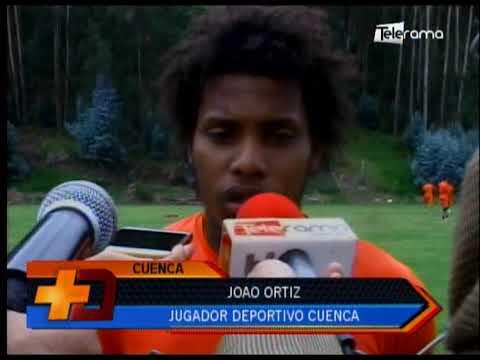 Deportivo Cuenca entrenó en el complejo de Patamarca
