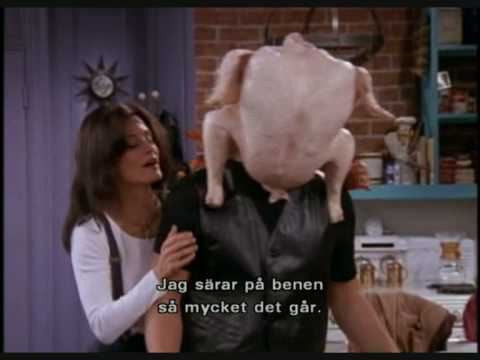 Friends funny thanksgiving moments