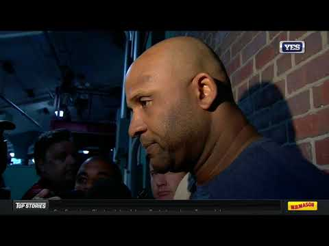 CC Sabathia on his three-inning start against the Red Sox