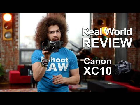 """Canon XC10 4K Camcorder """"Real World Review"""""""