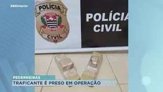 Homem é preso por tráfico de drogas na zona rural de Pederneiras