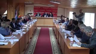 Şedinţa Consiliului Raional din 26.12.19