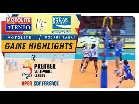 PVL OC 2018: Ateneo-Motolite vs. Pocari-Air Force   Game Highlights   September 23, 2018