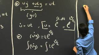 Solutions Of First-order Linear Equations | MIT 18.03SC Differential Equations, Fall 2011
