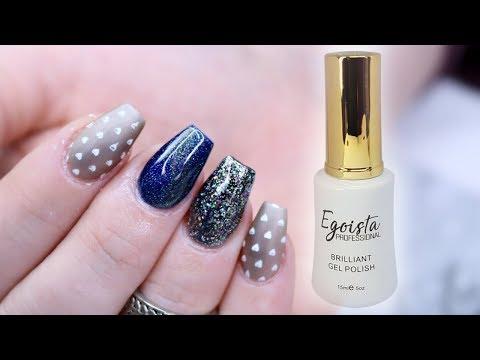 Gel nails - TUBEGEL TUTORIAL & GEL SWATCHES  EGOISTA