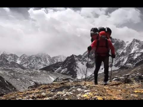 steck - http://www.epictv.com Ueli Steck is currently on Everest to climb a 'different route' with Simone Moro without oxygen. We caught up with the 'Swiss Machine' ...