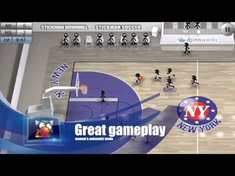 Video of Stickman Basketball
