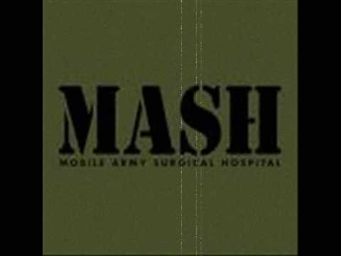 mash - This is one of my favorite songs... because it's one of my favorite shows ^_^ Lyrics: Through early morning fog I see visions of the things to be the pains t...
