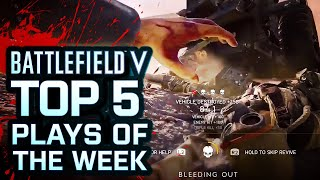 Battlefield V - Top 5 Plays Of The Week by GameSpot