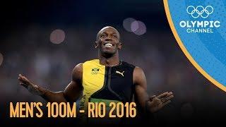 1. Men's 100m Final | Rio 2016 Replay