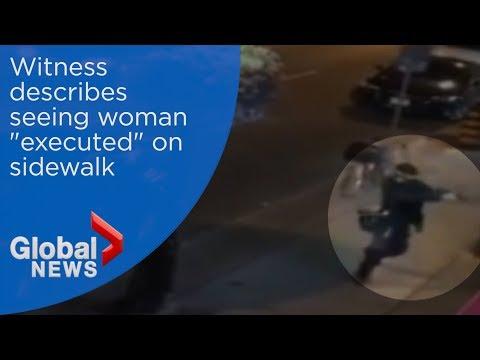 Toronto mass shooting: Witness describes gunman's rampage
