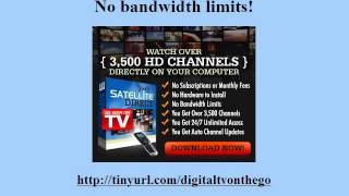 Visit http://bestsatellitetvsoftwaredownloadapp.blogspot.com/What if there was a way for you to watch thousands of television channels, any time you want without a TV turner for pc and never pay another cable bill again? With Satellite Direct there is! Download at http://bestsatellitetvsoftwaredownloadapp.blogspot.com/