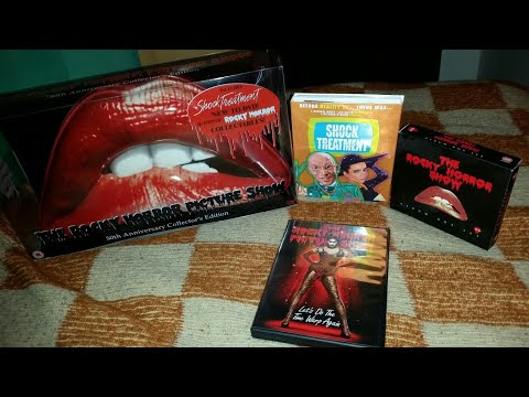 Rocky Horror Picture Show Shock Treatment Arrow 30 Anniversary Soundtrack Collection Unboxing Review