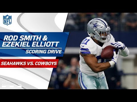 Video: Ezekiel Elliott & Rod Smith Lead Dallas to Scoring Drive! | Seahawks vs. Cowboys | NFL Wk 16
