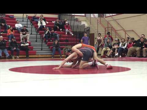 Wrestling highlights: Julian Chlebove vs. David Campbell