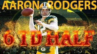 Aaron Rodgers 6 Touchdowns In One Half   Bears Vs  Packers  2014    Nfl Vault Highlights