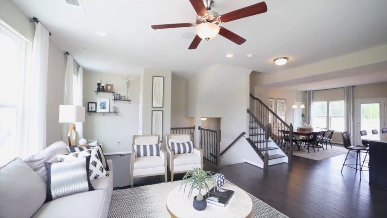 New Wexford Townhome Model For Sale At Creekside Village Townhomes In Glen Burnie Md